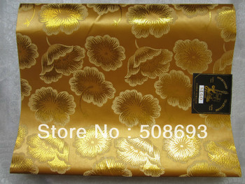 gold color FREE SHIPPING african headtie+sego headtie+flower pattern wholesale price+best material head accessory