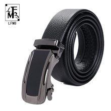 Buy LFMB 2017New genuine Leather Belts Business casual designer leather belt men brand casual Strap belts men for $15.33 in AliExpress store