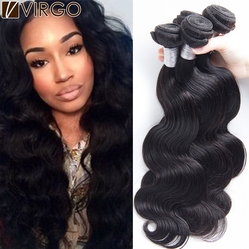 Unprocessed Peruvian Virgin Hair Body Wave 4Pcs Lot Peruvian Human Hair Extensions Rosa Hair Products Peruvian Virgin Hair Weave