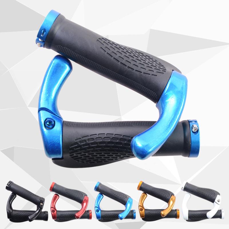 2016 Anti-slip Cycling Lockable Handle Grip For Bicycle MTB Road Bike Handlebar Bicycle Grip bike grips Aluminum Alloy + Rubber(China (Mainland))