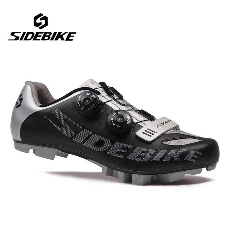 SIDEBIKE Professional MTB Self-locking Shoes Bicycle Cycling Shoes Breathable Mountains BIke S2-Snap Knob Athletic Shoes