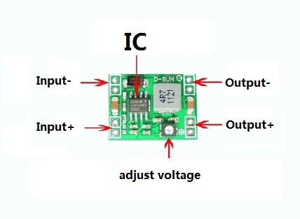 Электронные компоненты Mini Power DC/dc 3A LM2596 /: 4.5V/28 : 0,8 20V 2 20v 1 2a power module 220v to 20v acdc direct switching power supply isolation can be customized