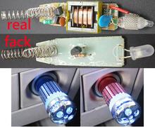 High Quality Mini Auto Car Fresh Air Purifier Oxygen Bar Ozone Ionizer Clearer DC 12V Car oxygen generator Free shipping(China (Mainland))