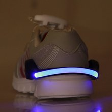 Buy LED Luminous Shoe Clip Light Night Safety Warning LED Bright Flash Light Running Cycling Bike New Arrival for $1.29 in AliExpress store