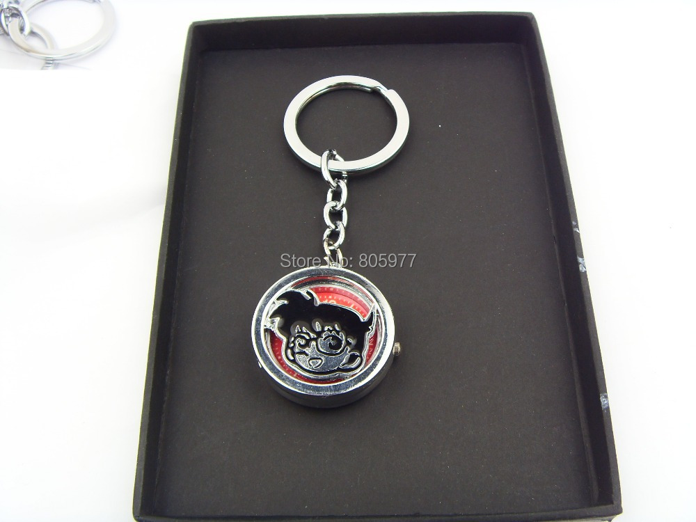 2014 New Arrival High Quality Anime Conan Edogawa Bronze Chain Keychain Pocket Watch 20pcs lot