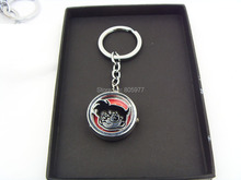 2014 New Arrival High Quality Anime Conan Edogawa Bronze Chain Keychain Pocket Watch 20pcs/lot