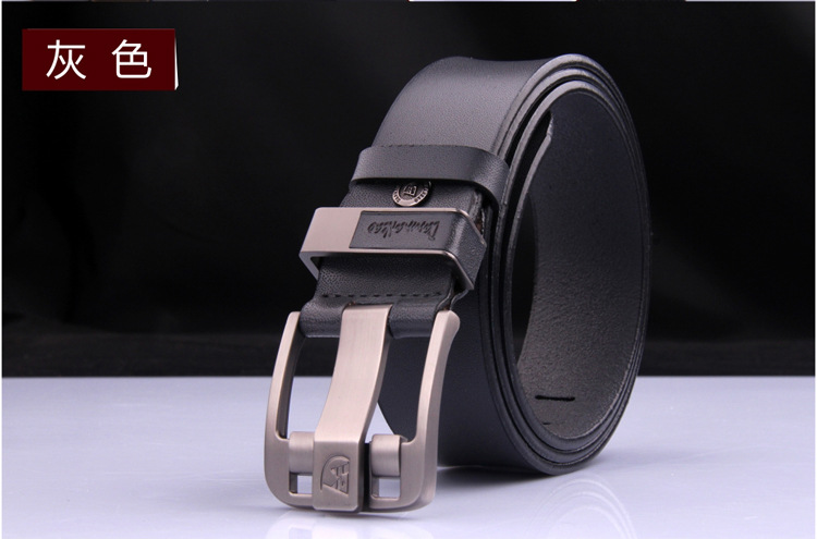 Hot sale!!! new arrival men real luxury leather belts male strap High quality fashion men women belt pin buckle(China (Mainland))