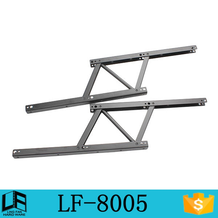 Hot Sale Space-saving furniture hardware coffee table lift hinge, iron folding table bracket, table mechanism LF-8005(China (Mainland))