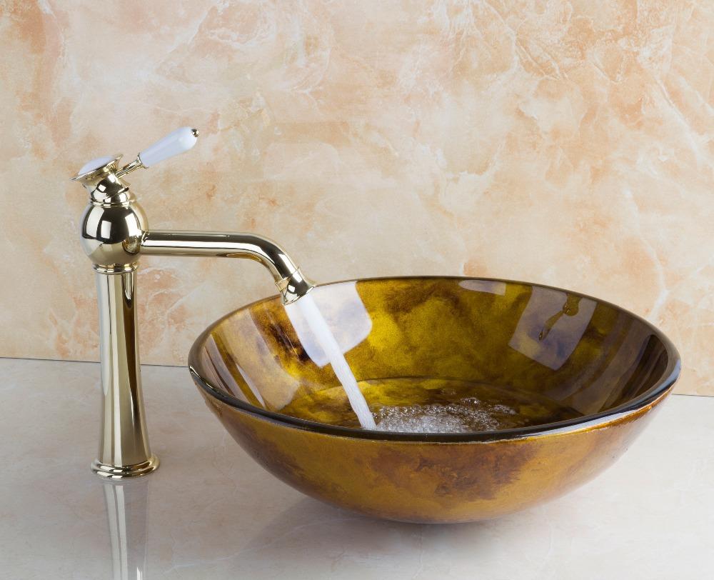 Salle de bains évier récipient en verre achetez des ...