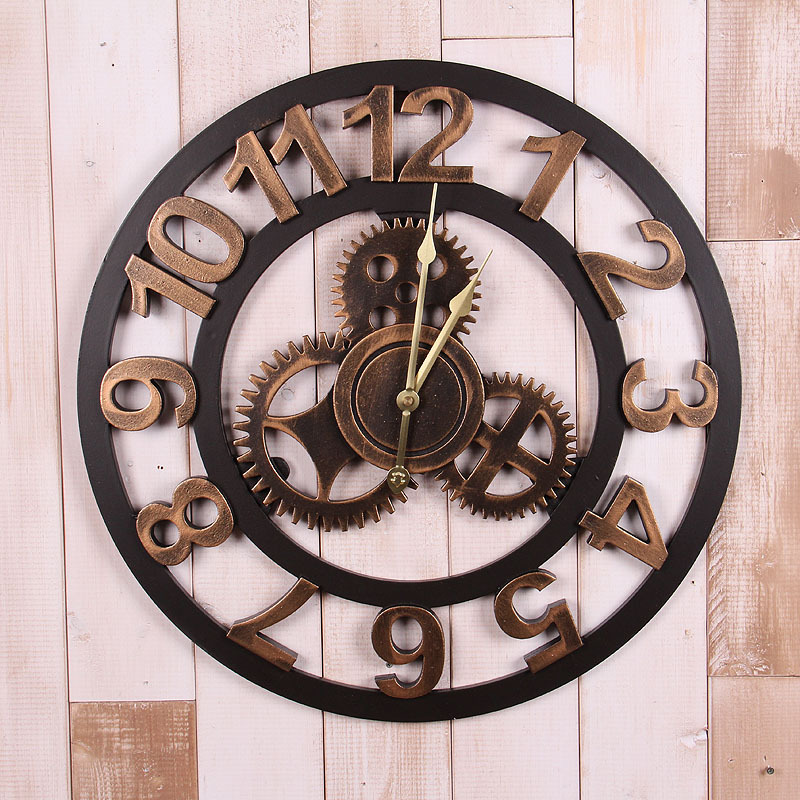Horloge murale for Decoration murale industrielle
