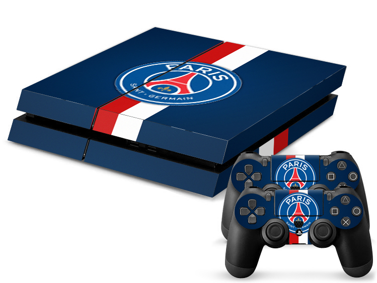 Free Shipping psg football team paris germain Skins for Playstation4 for PS4 Stickers Olympique de Marseille