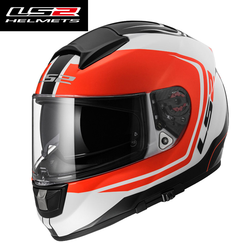 The most popular new glass fiber LS2-FF397 motorcycle helmet the built-in Bluetooth slot double lens cylinder(China (Mainland))