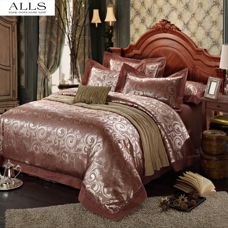 online kaufen gro handel lila satin bettw sche aus china lila satin bettw sche gro h ndler. Black Bedroom Furniture Sets. Home Design Ideas