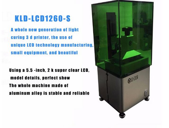 wax / casting /UV resin LCD light curing wifi supported Photocurable 3d printer . SLA 3D printer SLA tooth jewelry in stock