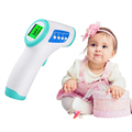 2PCS Digital Thermometer Infrared Baby Adult Forehead Non contact Infrared Thermometer LCD Backlight Termometro Infravermelho