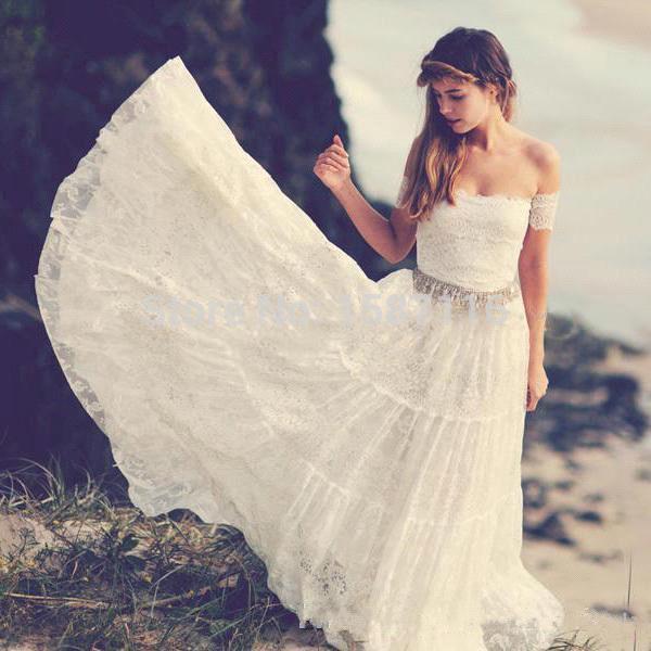 Buy vintage bohemian wedding dresses for Bohemian wedding dress for sale