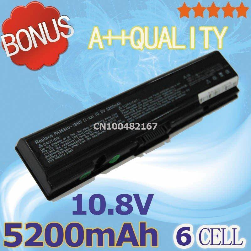 Laptop Battery For Toshiba Satellite A200 A202 A355 A505 L202 L305D L500D L550 L555D M203 M203 M209 M215 A203 A210 A355D(China (Mainland))
