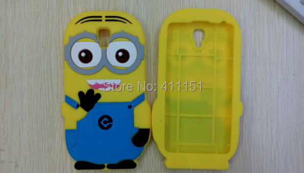 3D Despicable 2 Minions Soft Silicone Back Cover Case Samsung Galaxy Note 3 Neo N7506V N7502 N7505 - ALEX ZHOU Store store