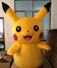 New Adult Child Pikachu mascot fancy dress costume()