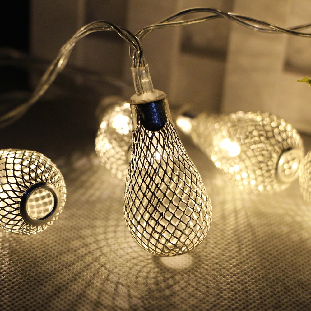 A String Of Holiday Lights Has 73 Light Bulbs In Series : 20 leds String Light AA Battery Operated Christmas Garland Light Fairy Xmas Wedding Festival ...