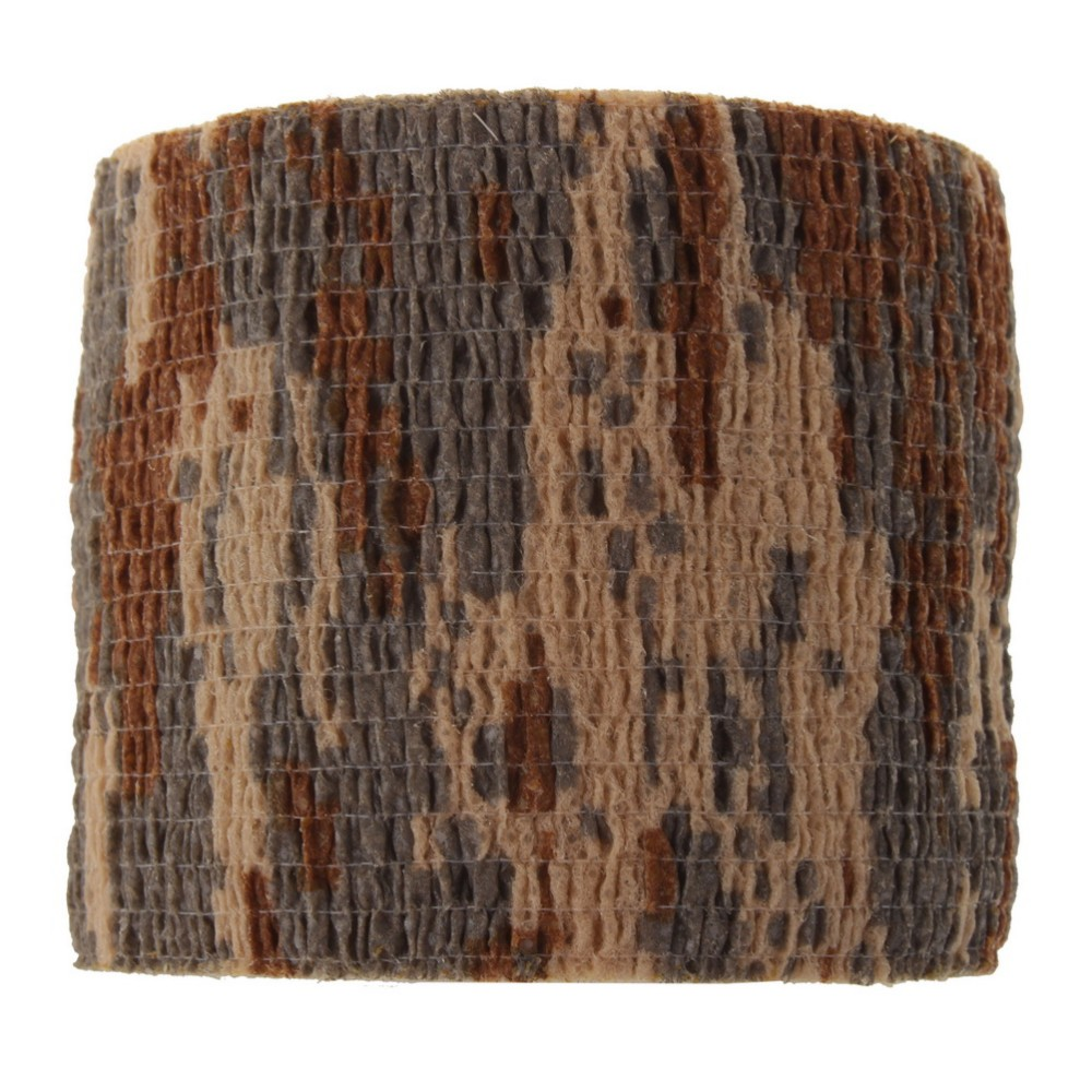 4 Colors 5cmx4.5m Outdoor Shooting <font><b>Hunting</b></font> Camera Tools Waterproof Wrap Durable Cloth Army Camouflage Tape <font><b>Hunting</b></font> Accessories