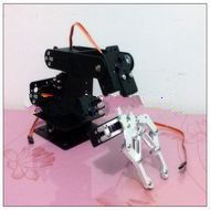 4 DOF robot arm three-dimensional rotating machinery teaching DIY kit Package Series Package Specials<br><br>Aliexpress