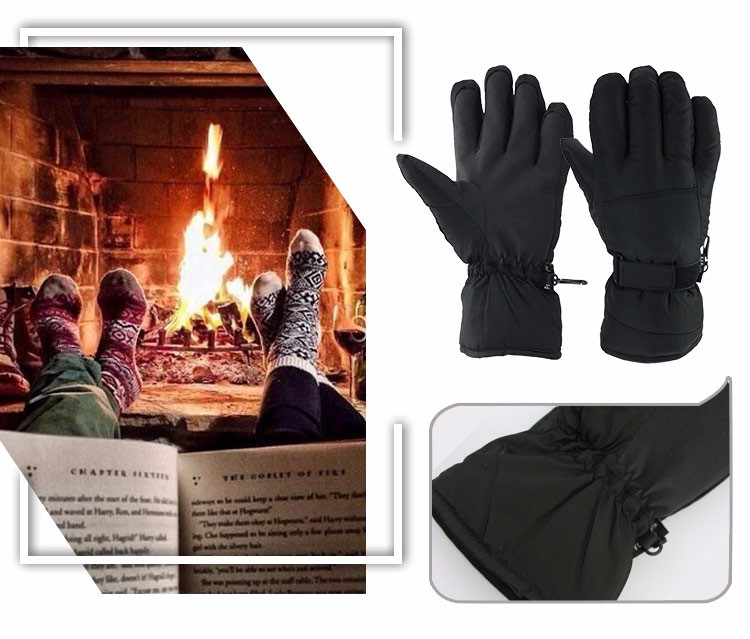 Brand OZERO Warm Gloves -30 Degree Windproof Waterproof Unisex Work Security Protection Safety Workers Winter Gloves 9011