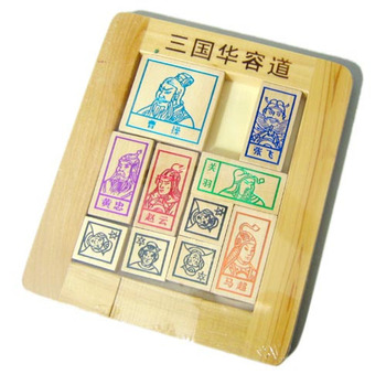 Color gold trecsure hurong tao wooden puzzle toy adult series