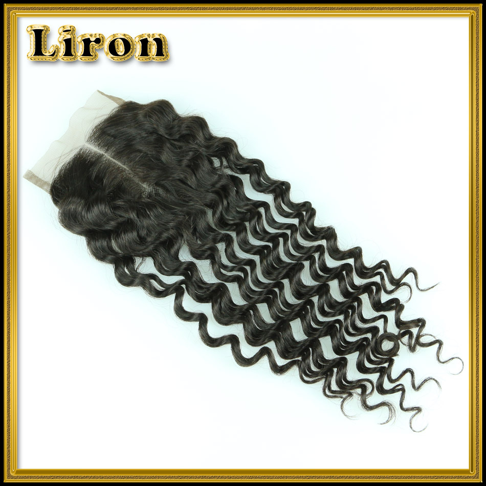 Brazilian Deep Wave Closure 100% Unprocessed Human Hair Closure Queen Hair Products Lace Closure Brazilian Virgin Hair Closure<br><br>Aliexpress