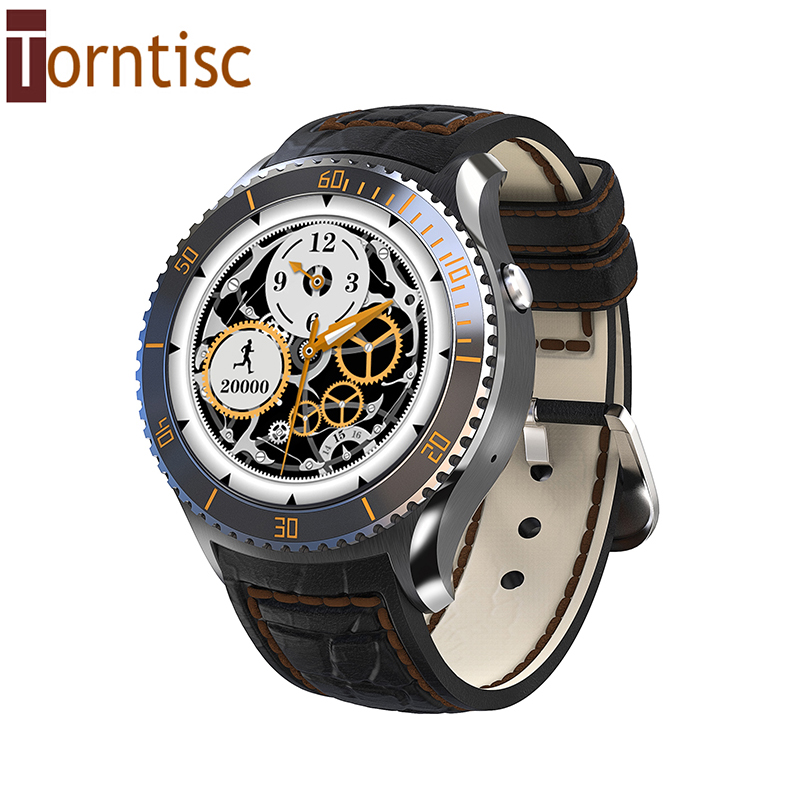 Torntisc I2 android 5.1 OS Smart watch MTK6580 Support Wifi GPS 3G IP54 Waterproof Bluetooth 4.0 Smartwatch Google play store(China (Mainland))