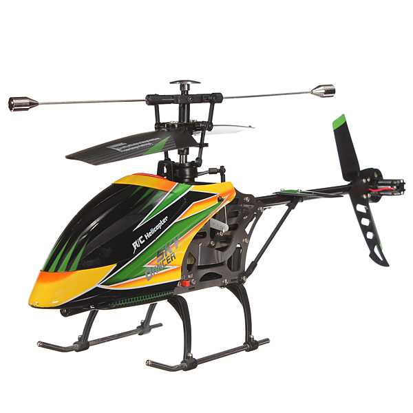 Wholesale RC Heliocptero Large WLtoys V912 Sky Dancer 4CH RC Helicopter With Gyro BNF Without Transmitter(China (Mainland))
