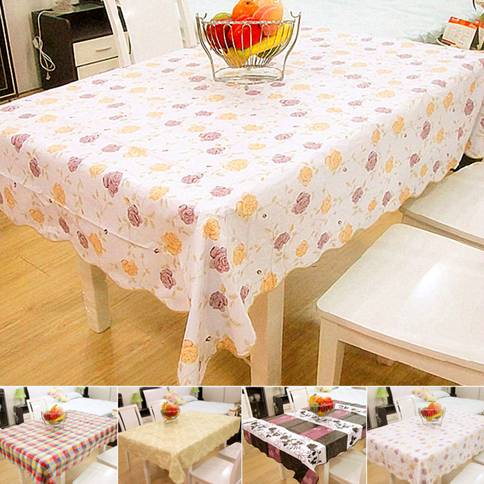 Multi-colored fancy thickening waterproof table cloth pvc oil dining table cloth hard k1046(China (Mainland))