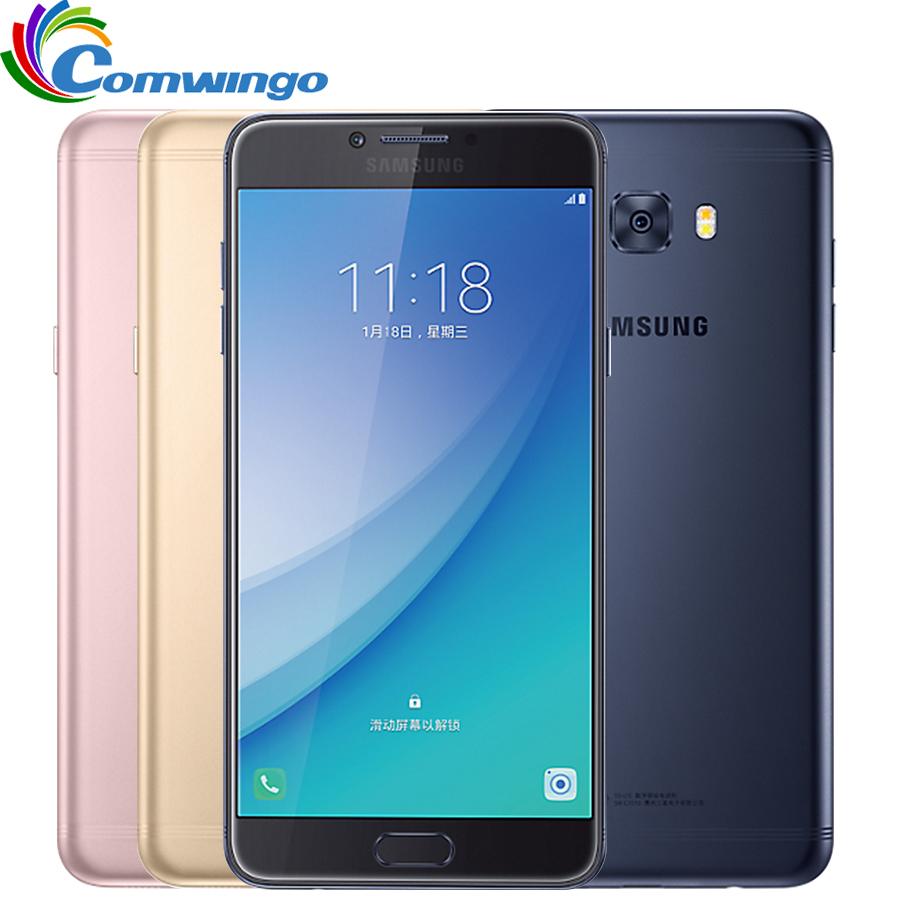 "Unlocked Samsung Galaxy C7 Pro C7010 (2017) RAM 4G ROM 64G Octa Core Dual Sim 5.7"" 3300mAh 16MP 4G LTE Moblie Phone c7pro(China (Mainland))"