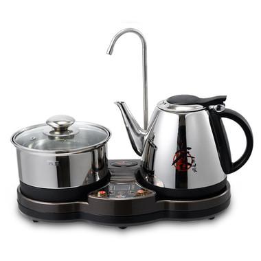 Wt-dp10 electromagnetic furnace tea set automatic electric heating kettle electric teapot pump water kettle tea set(China (Mainland))
