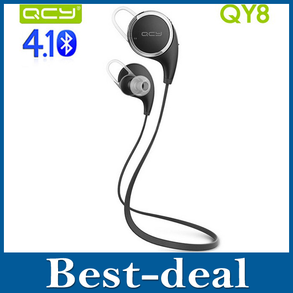 Original QCY QY8 Wireless Bluetooth 4.1 Headphones Music Stereo Headsets Studio Sport Earphones Fone De Ouvido with Microphone(China (Mainland))