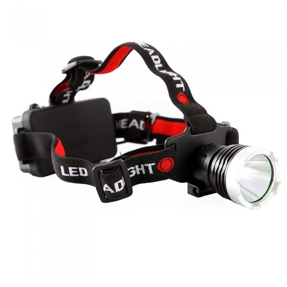 led headlamp with head strap 2000 lm CREE T6 high quality LED Headlight Durable aluminum alloy material with Battery Holder<br><br>Aliexpress