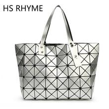 Clear Inventory HS RHYME Women Diamond Handbag Folded Lattice Pearl Shoulder Tote Bag Top-hand Bag Woman women messenger bags(China (Mainland))