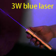 2.5W 445nm blue laser Pointer, laser torch, Copper housing with electronic Lock(China (Mainland))