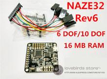 Acro Afro Naze32 Flip32+Rev 6 Naze32 6DOF/10DOF flght control 16m Rev 5 upgraded for DIY mini drone cross race quadcopter QAV250