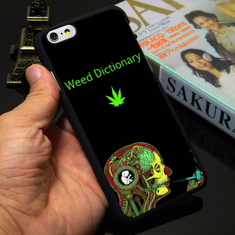 IP6 5S Mario Wiid Weed Case For Apple iPhone 7 4S 5C 5S 6 Plus 4.7inch 5.5″ I Smoke You Custom Mobile Phone Cover