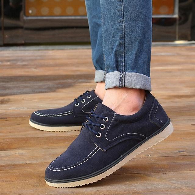 Новое поступление мода тенденция обувь - мужской весна лето свободного покроя мужские ...