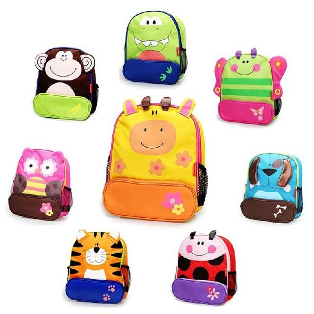 Новое поступление дети милые мультфильм сумки дети рюкзак школьные сумки животных ...