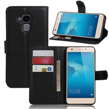 Huawei Honor 7 Lite/GT3/Honor 5C Luxury Wallet Leather Case Cover Card Holder Stand Flip Mobile Phone - FactoryToBuyer store
