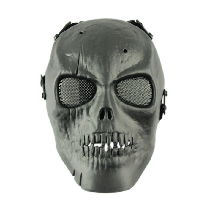 Skeleton Eye Mask Mask With Mesh Metal Eye