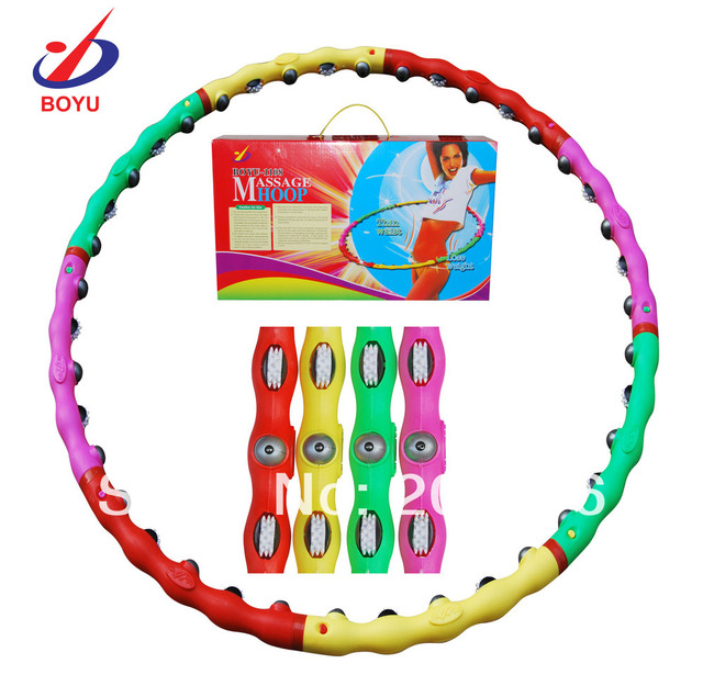New Arrival Combined Hula Hoop lose weight classic massage 2013 Sport Free Shipping