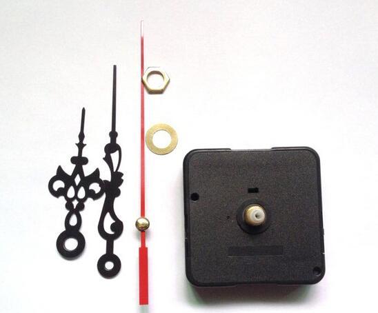 5pcs DIY Quartz Clock Movement Kits Spindle Mechanism Repair Sets With Hands EN1558(China (Mainland))