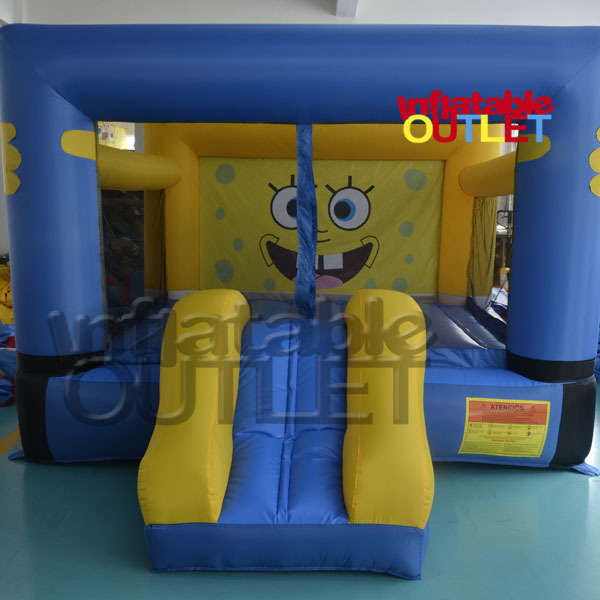 Spongebob residential bounce house inflatable bouncer with slide for kids <br><br>Aliexpress