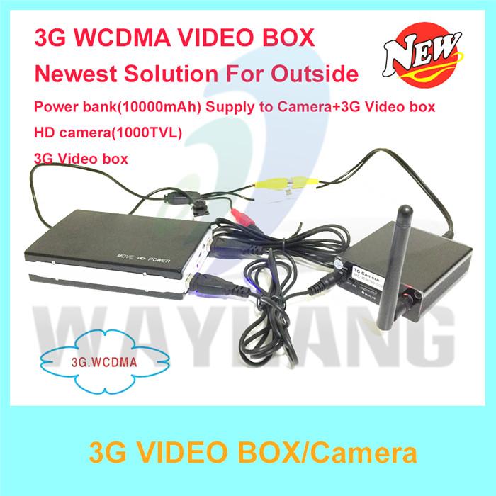 Free Shipping 3G Security Camera video call camera Power bank Camera mini 3G CCTV camera Use For Home Security(China (Mainland))