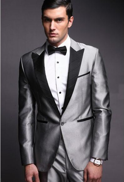 Grey Suits Wedding - Ocodea.com