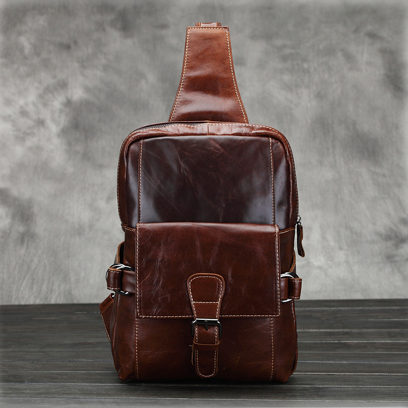 Vintage fashion style messenger bags for men made by genuine leather male shoulder bags high quality cowhide men crossbody bag<br><br>Aliexpress